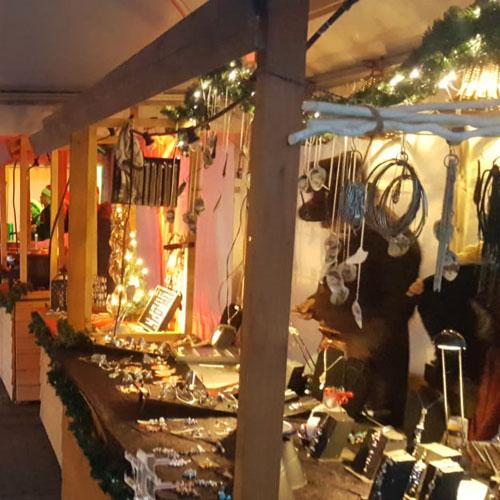 houten kraam kerstkraam winterkraam