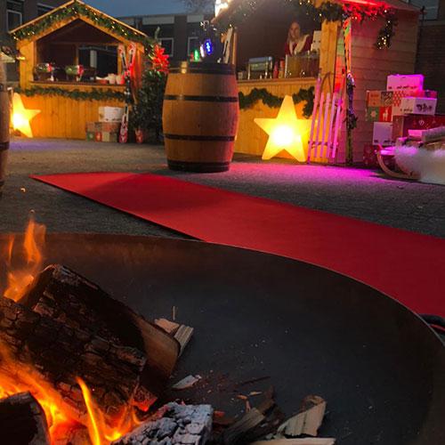 Kerstdorp kerstmarkt extra decoratie kerst