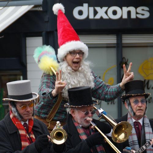 Kerstkabouter inhuren straattheater