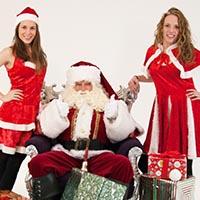 Kerstactiviteiten bedrijf kerstman kerstpakket