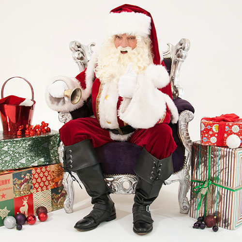 Kerstman boeken huren