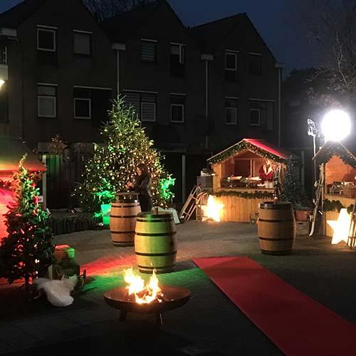 Kerstmarkt mini Talpa productie Enschede