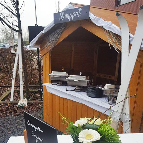 Winter lunch catering concept