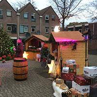 kerstmarkt organiseren decoratie